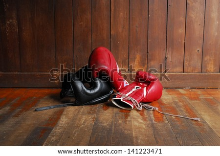 diet concept Boxing - stock photo