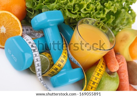 diet food - stock photo