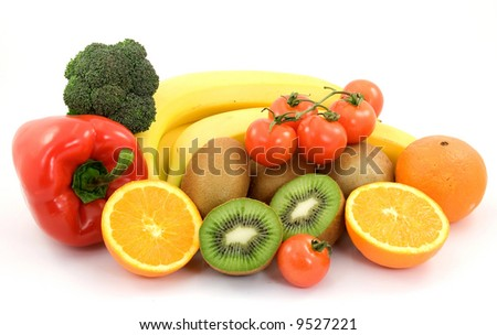diet healthy food studio isolated