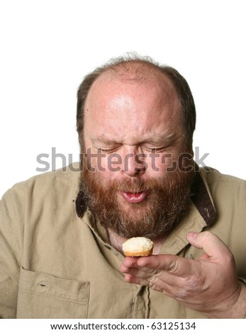 Diet muffins, cruelty beyond known bounds. - stock photo