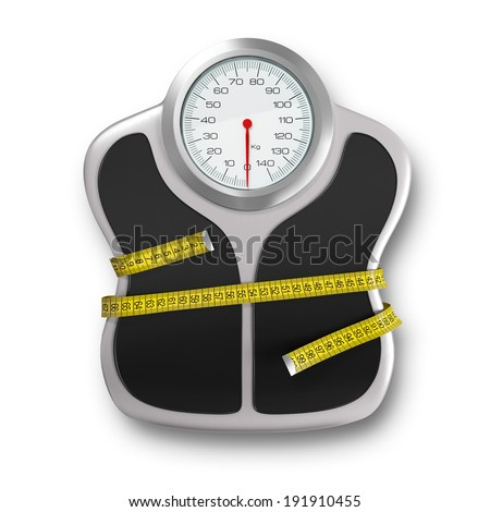 Diet time - stock photo
