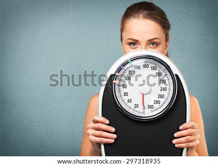 Dieting, Exercising, Women. - stock photo