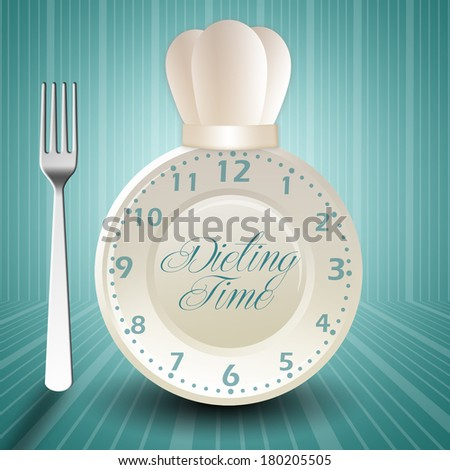 Dieting time - stock photo