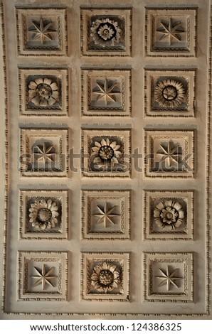 Different architecture details, close up, architecture fragment, exterior, interior , interior fragment close up, ancient, old art, sculpture, stone art - stock photo