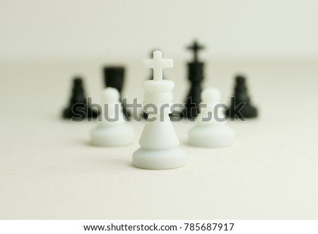different chess pieces stock photo royalty free 785687917