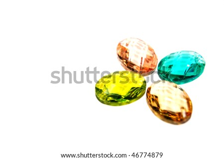 different color beads