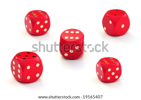 Different dice outcomes