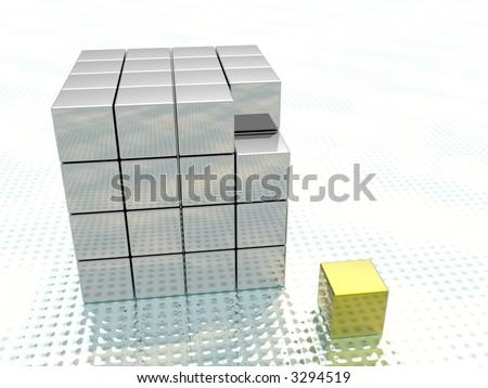 different element - stock photo