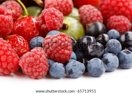 different kinds of berries