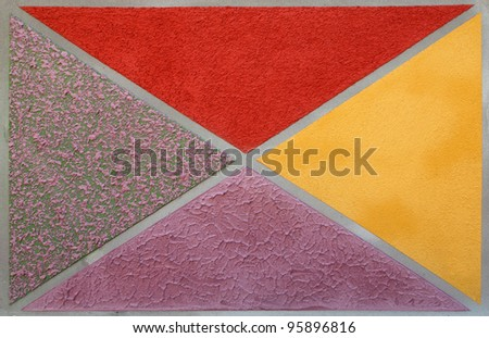 Different patterns of Concrete background
