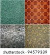 Different patterns of the background - stock photo