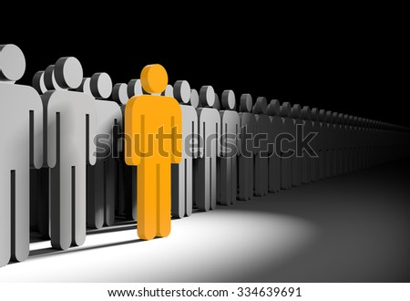Different people - stock photo