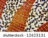 Different sizes and color mosaic - stock photo