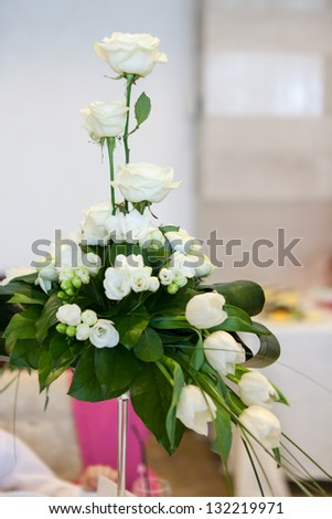 Different types flower arrangements isolated on stock photo royalty different types of flower arrangements isolated on white background mightylinksfo