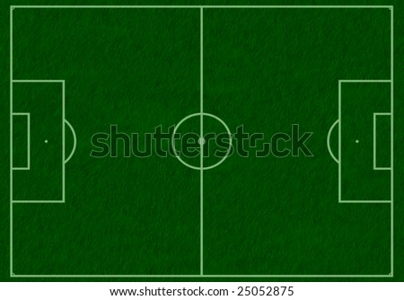 Different types of sport fields. To see similar please visit my gallery. - stock photo