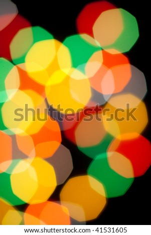 Different warm colors on dark background perfect for background