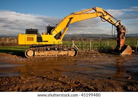 Digger - stock photo