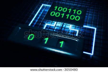 digital - stock photo