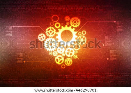 Digital Abstract technology background