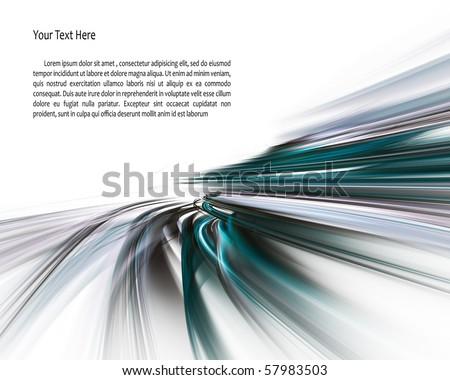 Digital art background - stock photo