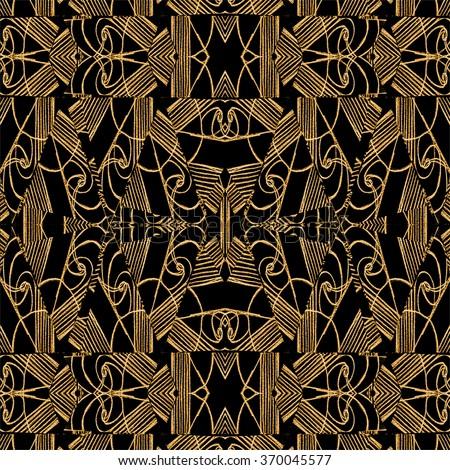 digital art collage technique modern geometric stock illustration 370045577 shutterstock. Black Bedroom Furniture Sets. Home Design Ideas