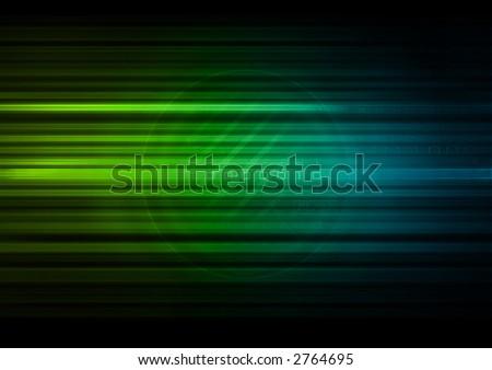 Digital Background - stock photo