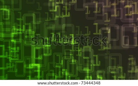 digital background - stock photo