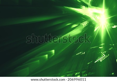 Digital  background image with technology - stock photo