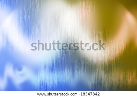 Digital Background in Blue and Warm Tone