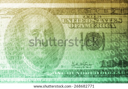 Digital Banking Security Transaction as a Concept - stock photo