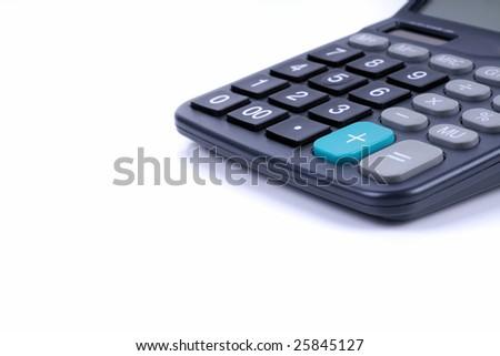 Digital Calculator - stock photo