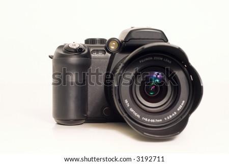 Digital Camera for capturing those precious memories - stock photo