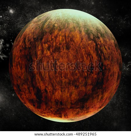 Digital composite image of planet earth on white background