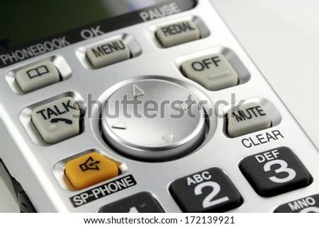 Digital cordless phone - stock photo