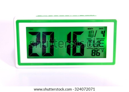 Digital Desktop Clock timer and alarm for wake up.