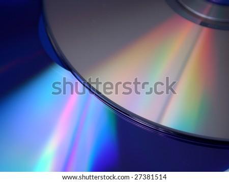 Digital discs background (cd/dvd) - stock photo