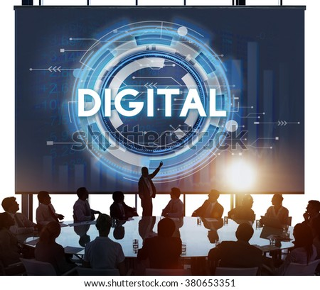 Digital Electronic Innovation Technology Data Concept