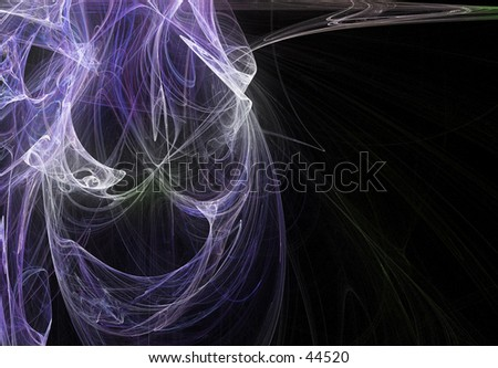 Digital fractal art 05 - stock photo