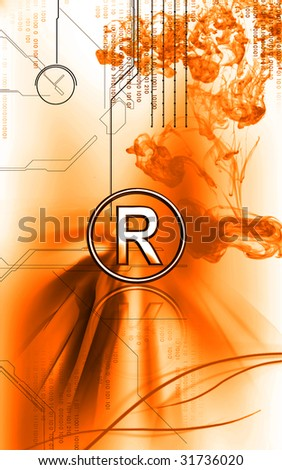 Digital illustration of restricted  symbol