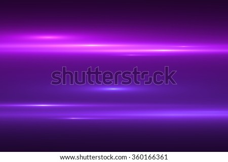 digital lens flare in black background horizontal frame warm