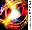 Digital Motion Fantasy Swirl - stock photo