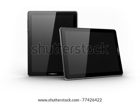 Digital pads - stock photo