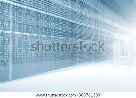 Digital Panel - stock photo