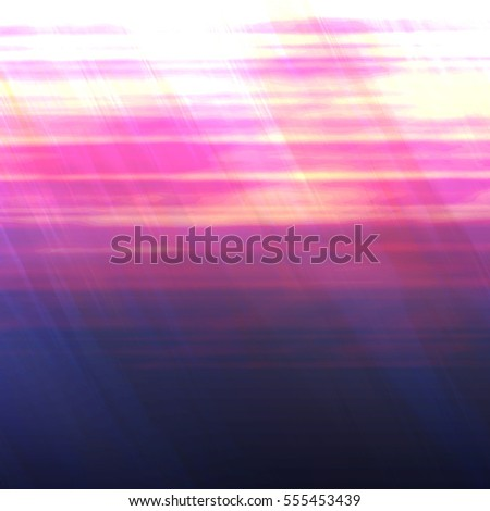 Digital Pink Ocean Sunset with Vibrant Warm Colors - High resolution illustration, suitable for graphic design or background use.