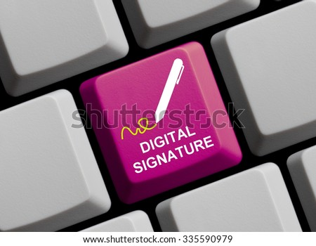 online signature stock photos images amp pictures