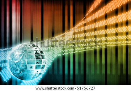 Digital Solutions for the Corporate Business Art - stock photo