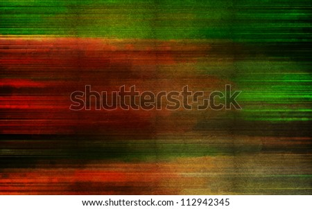Digital structure of painting. Abstract background with oil paint in scratches