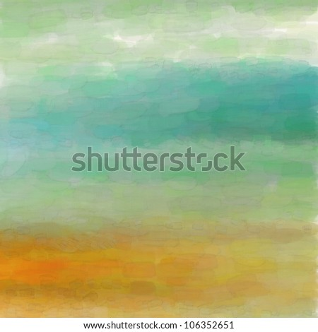 Digital structure of painting. Watercolor background - stock photo