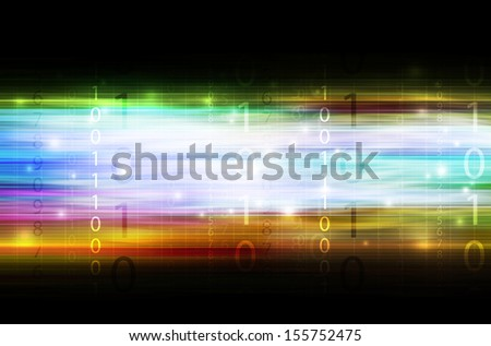 digital technology background illustration