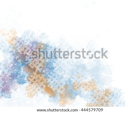 Digital Watercolor hand drawn background